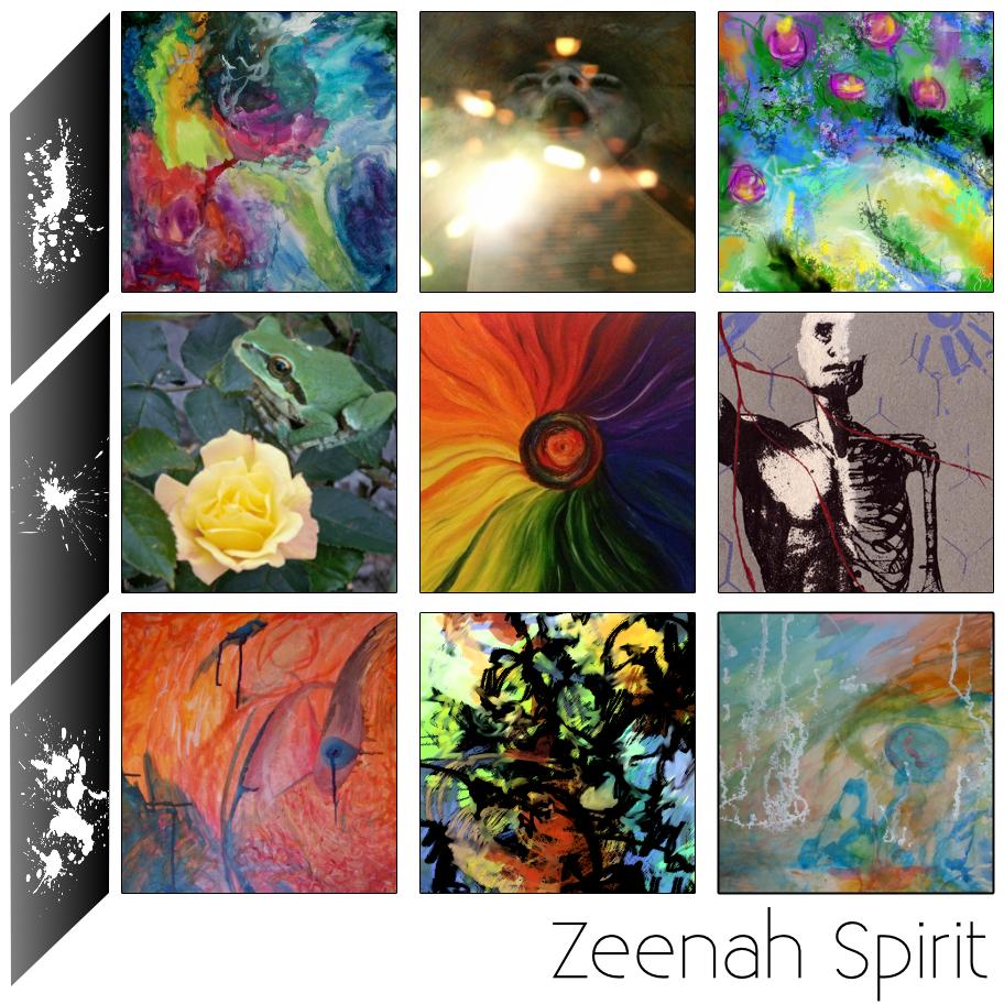 Zeenah Spirit Experimental Artist