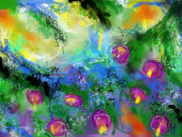 Bushel - Experimental Painting
