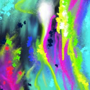 Pop Fizz - Experimental Painting